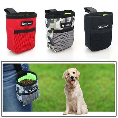 Portable Mini Outdoor Dog Cat Training Treat Snack Bag Pouch Storage Holder