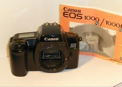 CANON EOS 1000FN, AN EOS 35mm SLR THAT PLAYS CLASSICAL MUSIC, I KID YOU NOT !!