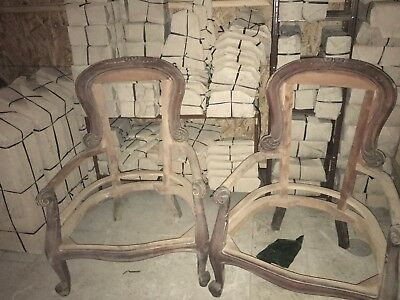 Victorian Style Mahoganywood Handcarved Chairs