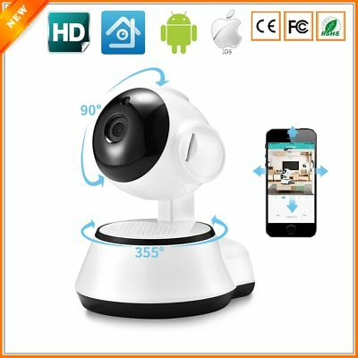 Camera Wifi Security Wireless HD Night Vision Home Light Bulb 360° 720p iCSee