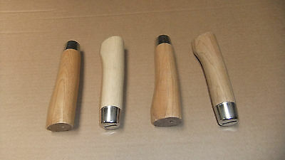 4 x Hardwood Billhook, Handbill, Swaphook Handles, Good Quality