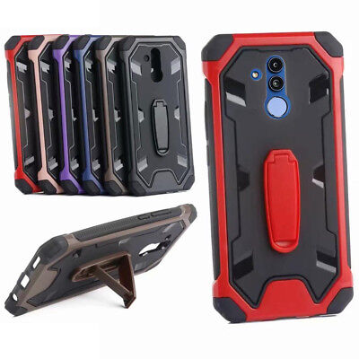 For Huawei Mate20Lite Hybrid Rugged Anti Impact PC hard Silicone Case cover