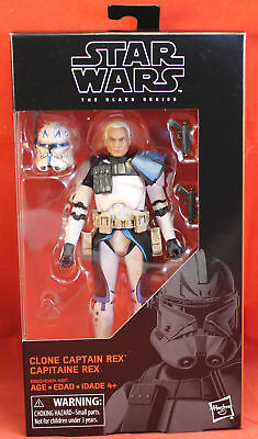 "Star Wars 6"" Action Figure Black Series - #59 Captain Rex"