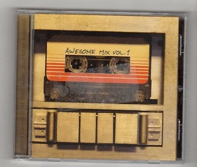 (IP433) Guardians Of The Galaxy, Awesome Mix Vol 1 - 2014 CD