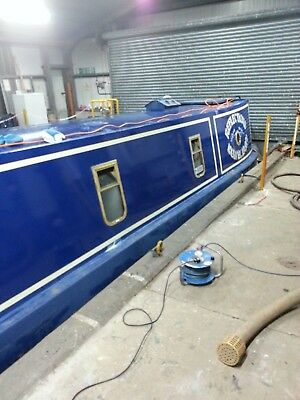 60ft Traditional narrowboat with 40hp perkins engine,1995 Tyler hull