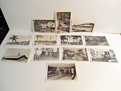 12~WW II Official U.S. Navy Photograph Postcard~Sailors in Barracks~Commissary++