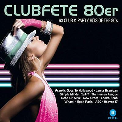 Various-Clubfete 80Er:63 Club & Party Hits Of The 80S (Uk Import) Cd New