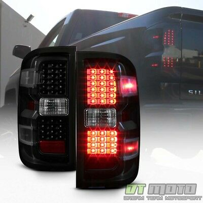 2014 2018 Chevy Silverado 1500 Factory Style Tail Lights Brake Lamps