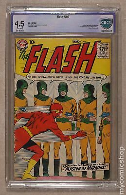 Flash (1st Series DC) #105 1959 CBCS 4.5