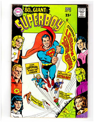 SUPERBOY #147 in FN/VF condition a 1968 Silver Age DC comic 80 page GIANT # G-47