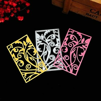 Flower Rattan Frame Cutting Dies Stencils Scrapbook Embossing Paper Craft DIY