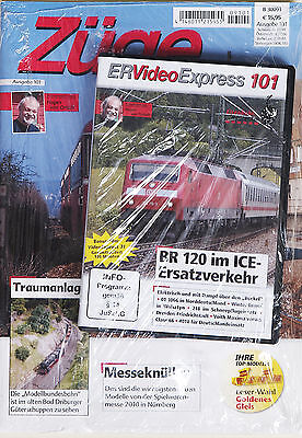 Züge Ausgabe 101 + DVD ER Video Express 101