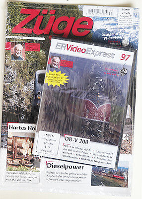 Züge Ausgabe 97 + DVD ER Video Express 97