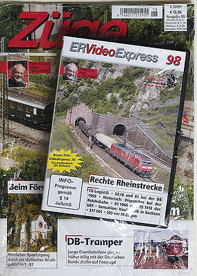 Züge Ausgabe 98 + DVD ER Video Express 98