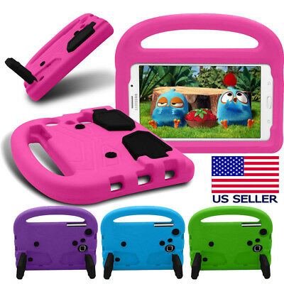 """Kids Handle Stand EVA Shockproof Cover For Samsung Galaxy Tab A 3 4 E Lite 7"""""""