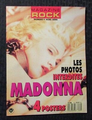 1990's ROCK French Poster Magazine #9 FN+ 6.5 Madonna