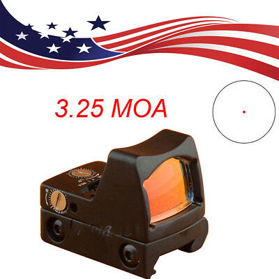 US Holographic RMR Reflex Red Dot Sight 3.25MOA Scope for Glock 17 Fit 20mm Rail