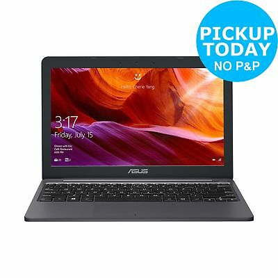 ASUS VivoBook E203 11.6 Inch Intel Celeron 4GB 64GB Laptop - Grey.