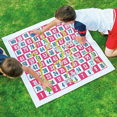 Professor Puzzle Giant Snakes and Ladders Indoor/Outdoor Game 3+ Years