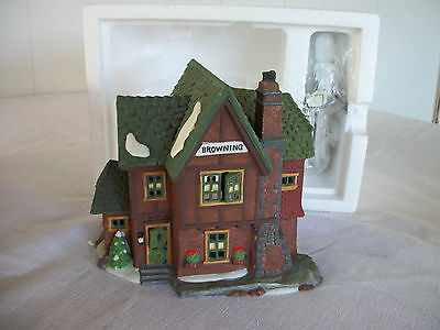 Department 56 Heritage Village Dickens' Series BROWNING COTTAGE House #58246 New