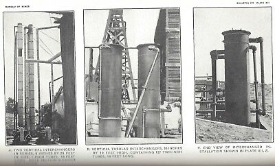 2 Vintage Publications on Condensing Gasoline from Natural Gas 1915 1919 USBM VN