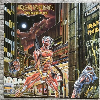 Iron Maiden – Somewhere In Time EMI – 24 0597 1 France EX LP TESTED