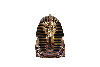Egyptian King God Sarcophagus Death Mask Sarcophagus Bust Indiana Jones Theme