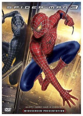 Spider-Man 3 DVD New Widescreen - Tobey Maguire