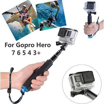 Extension Pole Selfie Stick Monopod for GoPro Hero/Session 7 6 5 4 3+ 3 2