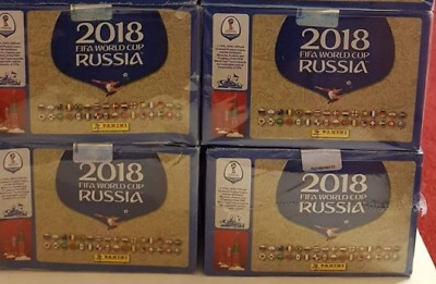 WC RUSSIA 2018 - Panini - sealed BOX 100 packs - 500 stickers