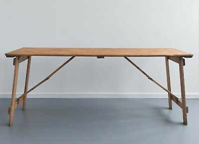 """6ftx2ft6"""" brand new wooden rustic trestle tables, minimum order of 3"""