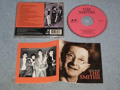 The Smiths The Very Best Of CD first press (WEA, 2001) misprinted booklet & rear