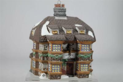 Dept 56 Dickens' Village 'Sir John Falstaff Inn' ORNAMENT 1995 Collectors Ed NIB