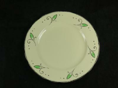 REPLACEMENT CHINA Vintage ROYAL MARIGOLD Side Plate Green Alfred Meakin 1930s