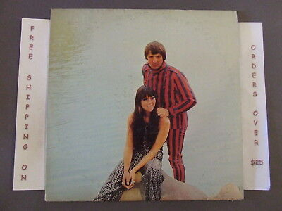 "Sonny & Cher Greatest Hits Dbl Lp W/ ""I Got You Babe"" ""The Beat Goes On"""