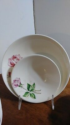 Set of 12 Harmony House Betsy Rose Cereal and Berry Bowls Pink Rose