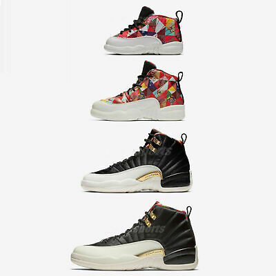 Nike Air Jordan 12 Retro CNY XII 2019 Chinese New Year Men Women Kids TD  Pick 9cb4788d925