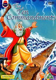 The Ten Commandments (Animated)  [DVD], DVDs
