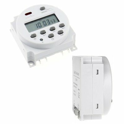 CN101A  LCD Digital Weekly Programmable Power Timer Time Relay Switch on