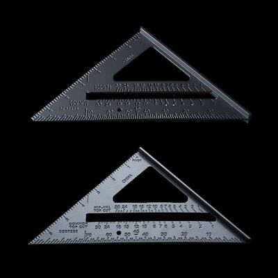 7'' Aluminium Alloy Roofing Rafter Square Triangle Angle Guide Amtech Tool