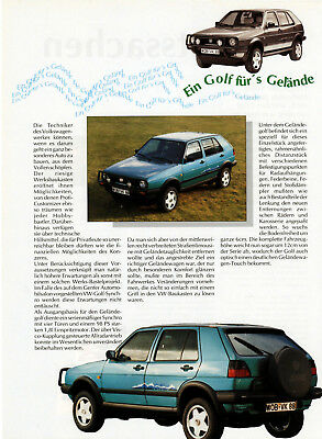 VW Golf Country - 1989
