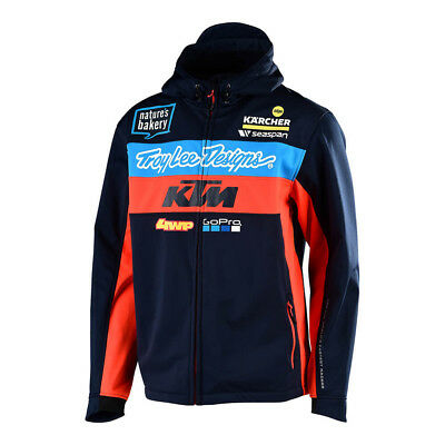 2019 Troy Lee Designs TLD KTM Team Pit Jacket MX SX Motocross
