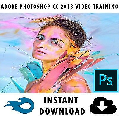Adobe PhotoShop CC 2018 Professional Video Training 5+ Hours - Instant Download