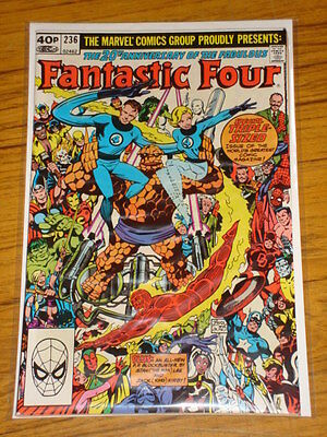 Fantastic Four #236 Vol1 Marvel Ds Kirby Wolverine Apps November 1981