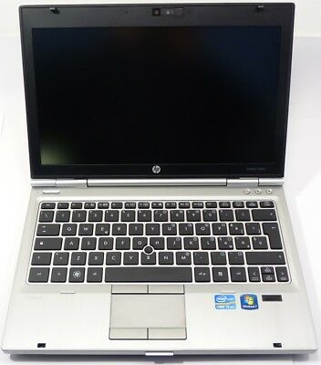 NOTEBOOK PC HP ELITEBOOK 2560P INTEL I5 2540M 2.50GHz NO HDD NO RAM WIN 7 PRO