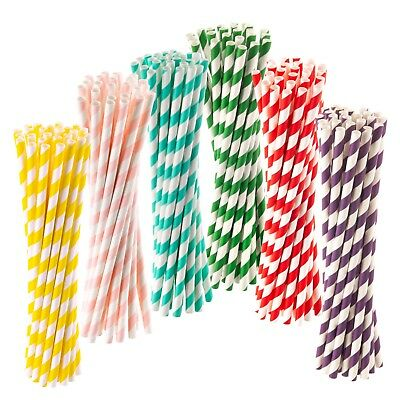 Green Straw BIO DEGRADABLE ECO Recyclable Bendy Neck Straws 40-3200 40
