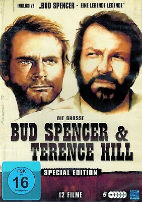 DVD-BOX - Die grosse Bud Spencer & Terence Hill Special Edition - 12 Filme