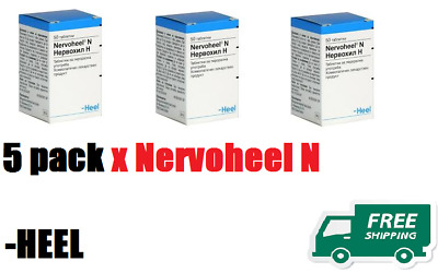 3  x   NERVOHEEL N  - Relieve stress, Anxiety, Nervousness, Sleeping Disorders