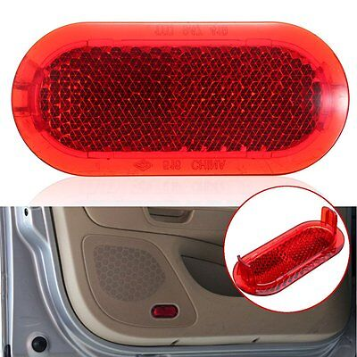 Door Panel Red Warning Light Reflector For VW Beetle Caddy Polo Touran