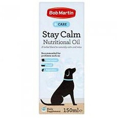 Bob Martin Stay Calm Oil 150ml - 3 x Pack